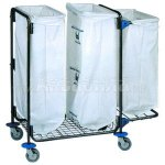BOL Equipment Тележка для сбора мусора 95.130 (3х120 л)