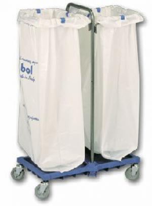 BOL Equipment Тележка для сбора мусора 10.113o пластик (2х120 л)